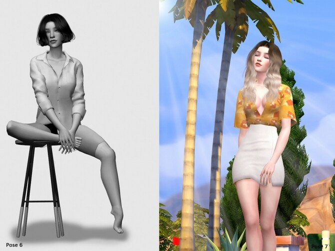 Sims 4 Thae Nowak Pose Pack by Beto ae0 at TSR