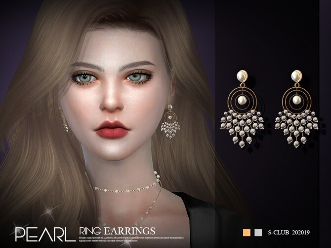 EARRINGS 202019 by S Club LL at TSR image 3019 670x503 Sims 4 Updates