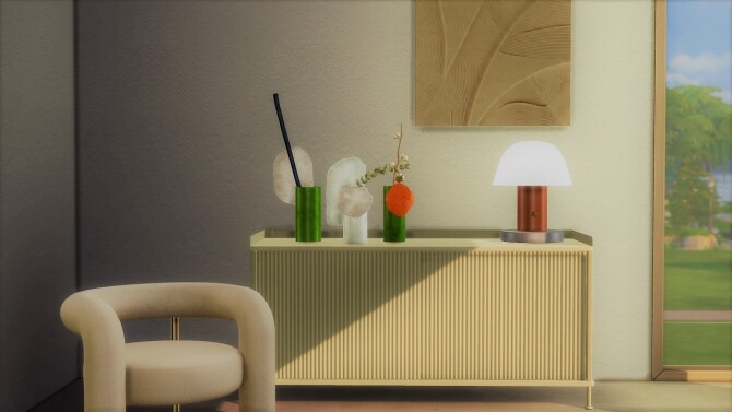 SETAGO TABLE LAMP at Meinkatz Creations image 3081 670x377 Sims 4 Updates