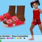 Strappy Sandals by drteekaycee