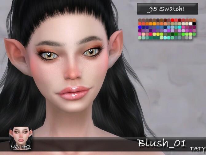 Blush 01 by tatygagg at TSR image 3114 670x503 Sims 4 Updates