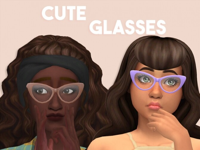 Cute Glasses by Fyzarix at TSR image 316 670x503 Sims 4 Updates