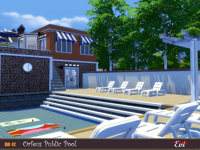 Orfeus Public Pool by evi at TSR image 3210 670x503 Sims 4 Updates