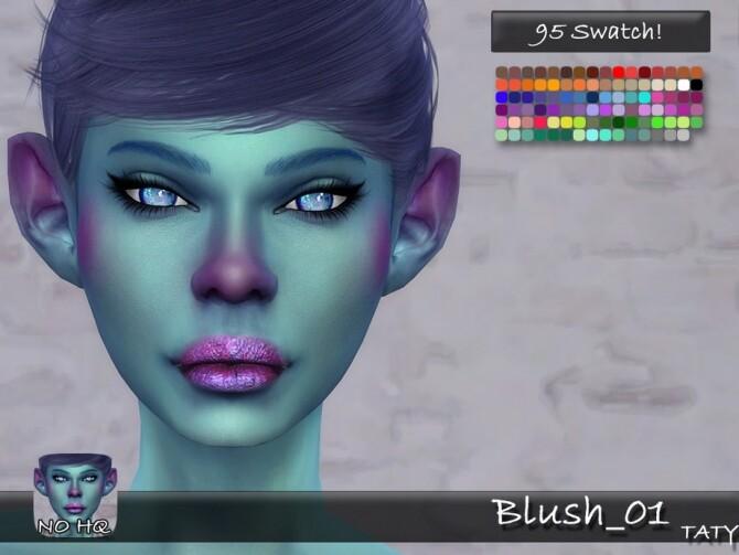 Blush 01 by tatygagg at TSR image 3212 670x503 Sims 4 Updates