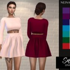 Solids Lina Outfit by neinahpets