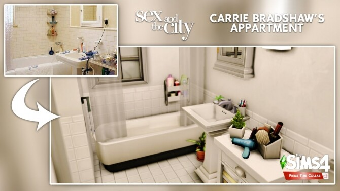 Carrie Bradshaw's apartment at DH4S image 3231 670x377 Sims 4 Updates