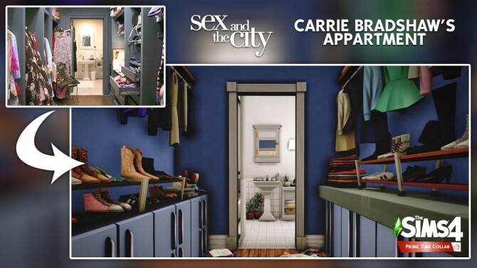 Carrie Bradshaw's apartment at DH4S image 3241 670x377 Sims 4 Updates