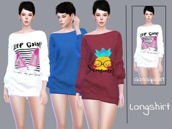 Longshirt by GossipGirl-S4