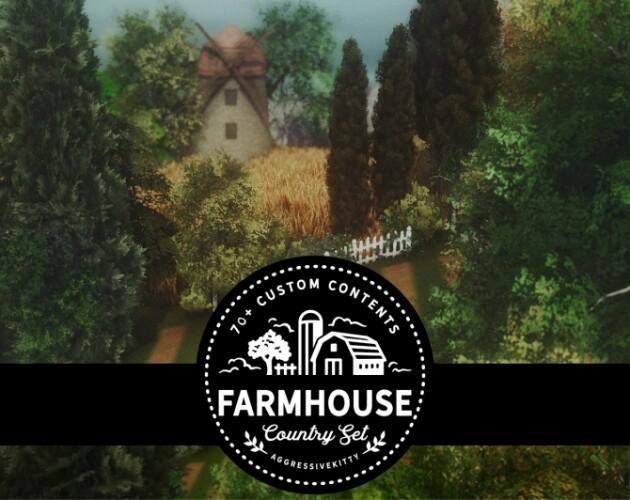 Country Life Farm Set