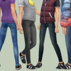 Skinny Jeans for Girls 10 by lillka