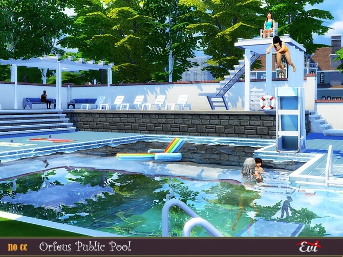 Orfeus Public Pool by evi at TSR image 338 670x503 Sims 4 Updates