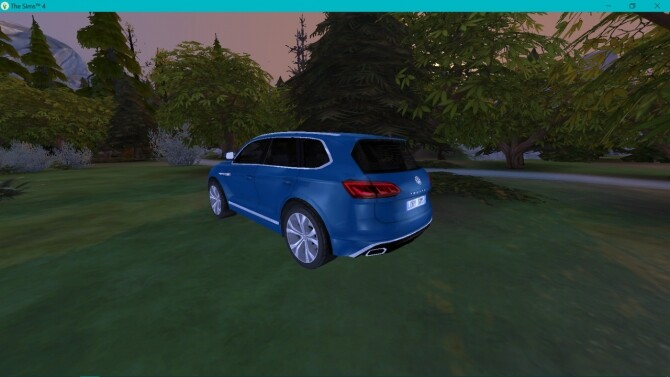Sims 4 Volkswagen Touareg at LorySims