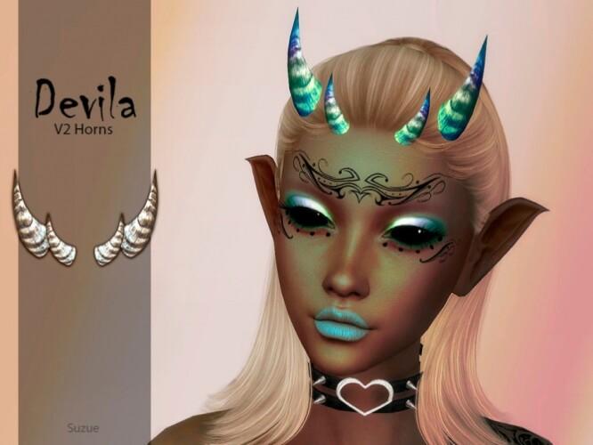 Devila Horns V2 by Suzue