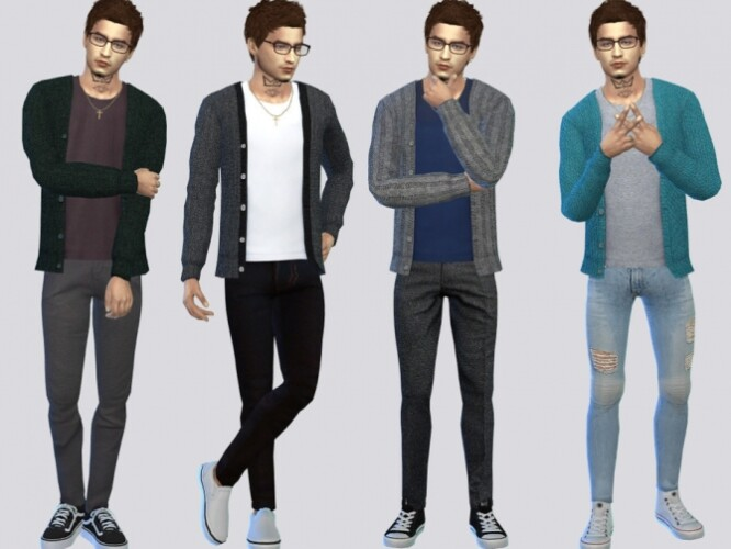 Anthony Casual Cardigan by McLayneSims