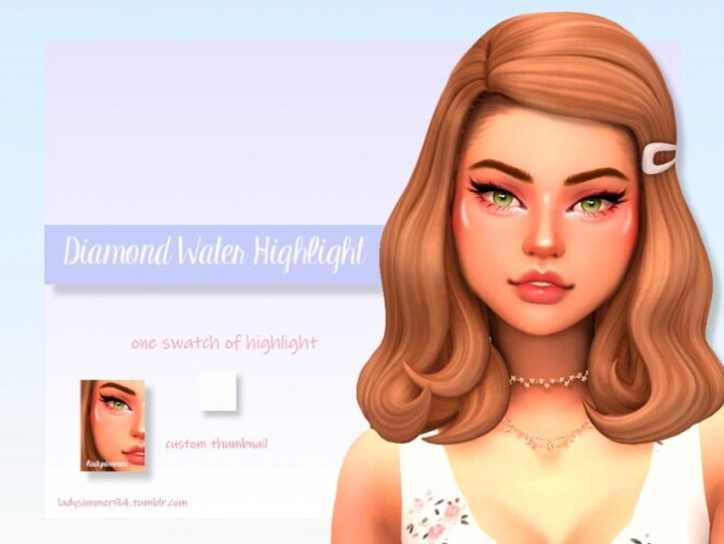 Diamond Water Highlight by LadySimmer94