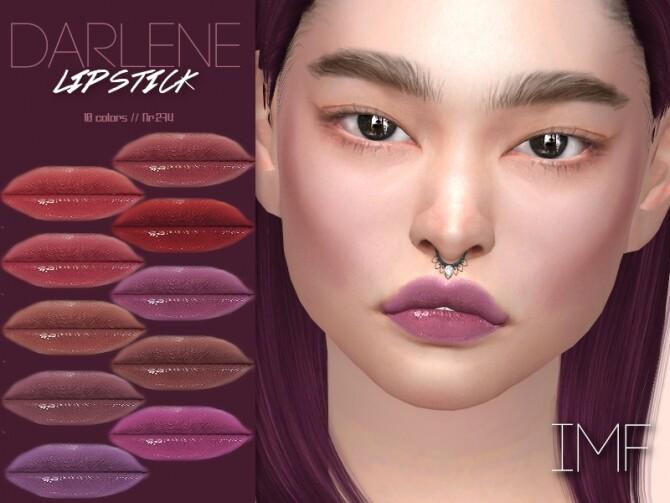 IMF Darlene Lipstick N.274 by IzzieMcFire at TSR image 3617 670x503 Sims 4 Updates