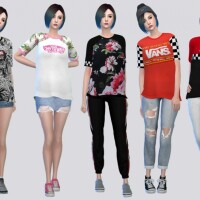 Vans Tees Female by McLayneSims