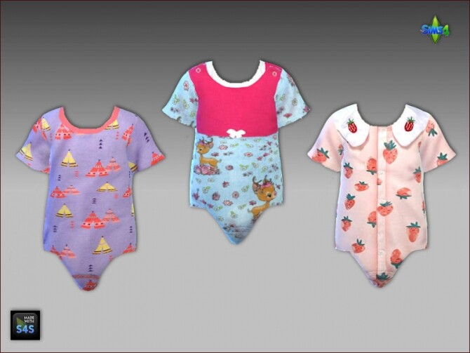 Onesies and sandals for toddler girls at Arte Della Vita image 3621 670x503 Sims 4 Updates