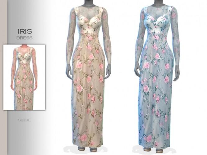 Iris Dress by Suzue