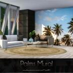 Palms Mural by Caroll91