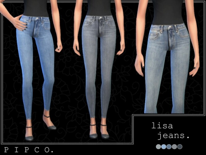 Lisa jeans set by Pipco