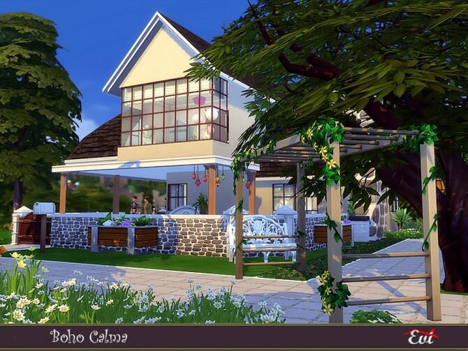 Boho Calma home by evi at TSR image 395 670x503 Sims 4 Updates