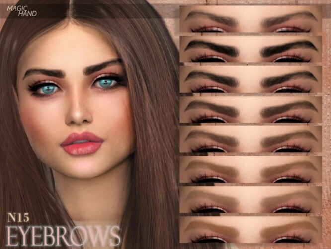 Eyebrows N15 by MagicHand