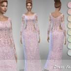 Dress Fenna 3 by Jaru Sims