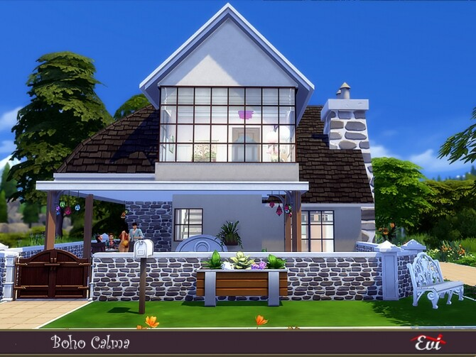 Boho Calma home by evi at TSR image 405 670x503 Sims 4 Updates