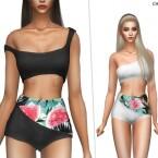 Tropical Shorts by CherryBerrySim
