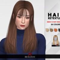 Kiana Hair Retexture by remaron