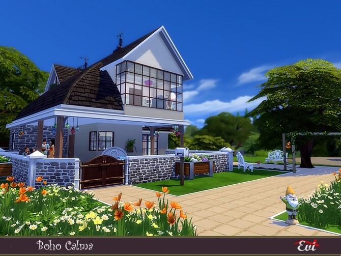 Boho Calma home by evi at TSR image 419 670x503 Sims 4 Updates