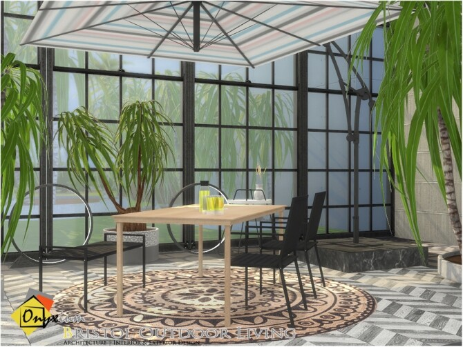 Bristol Outdoor Living by Onyxium at TSR image 4221 670x503 Sims 4 Updates