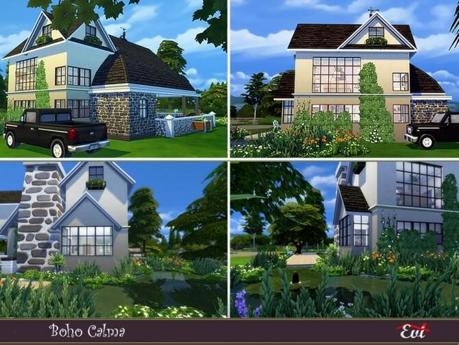 Boho Calma home by evi at TSR image 425 670x503 Sims 4 Updates