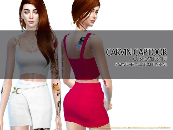 Shomer Skirt by carvin captoor