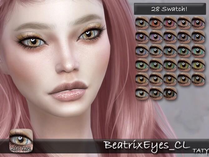 Beatrix Eyes CL by tatygagg at TSR image 428 670x503 Sims 4 Updates