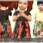 Dress Flowers 2 by bukovka
