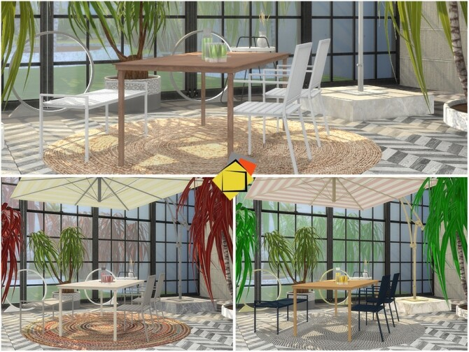 Bristol Outdoor Living by Onyxium at TSR image 4320 670x503 Sims 4 Updates