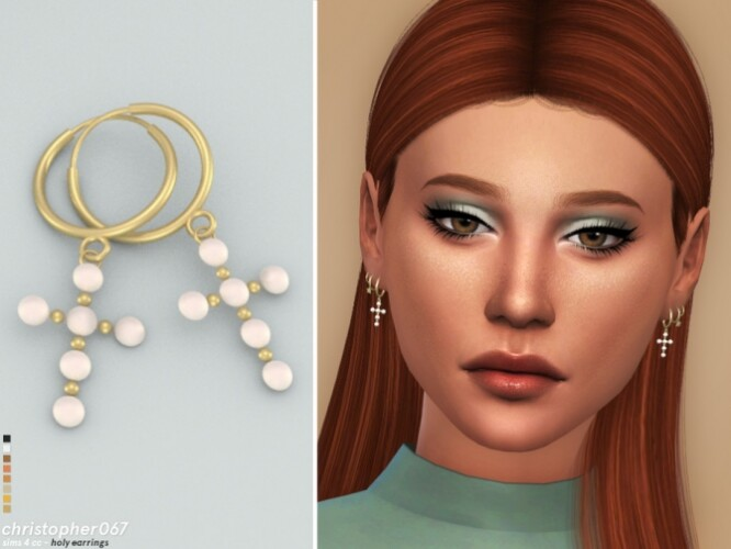 Holy Earrings by christopher067