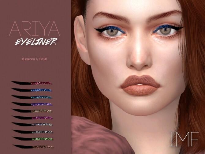 IMF Ariya Eyeliner N.96 by IzzieMcFire at TSR image 442 670x503 Sims 4 Updates