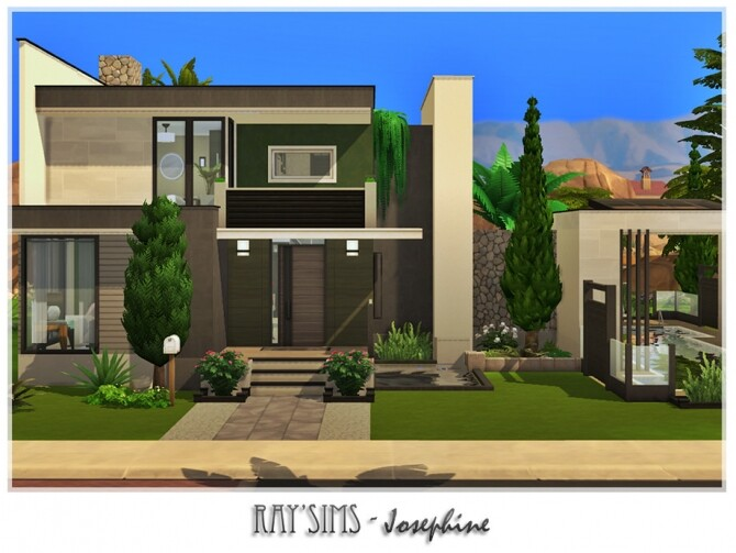 Sims 4 Josephine house by Ray Sims at TSR