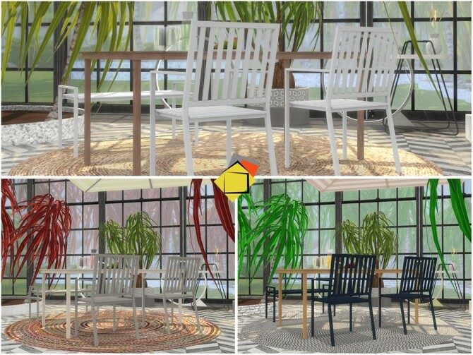 Sims 4 Bristol Outdoor Living by Onyxium at TSR