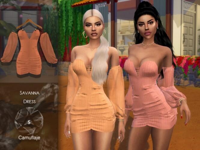 Savanna Dress by Camuflaje