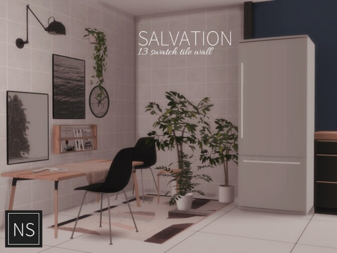 Sims 4 Salvation Tile by Networksims at TSR