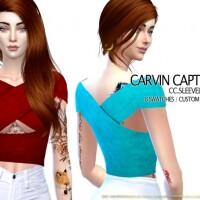 Sleeveless Top by carvin captoor