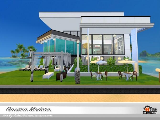 Sims 4 Gasara Modern Home NoCC by autaki at TSR