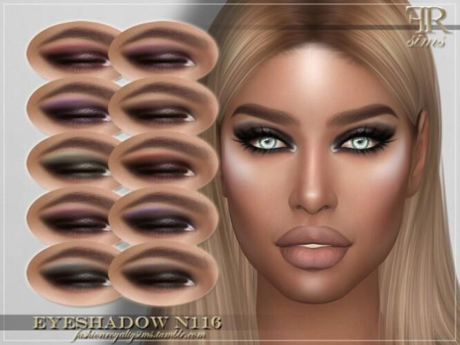 FRS Eyeshadow N116 by FashionRoyaltySims