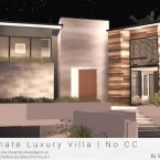 Ultimate Luxury Villa by Sarina_Sims