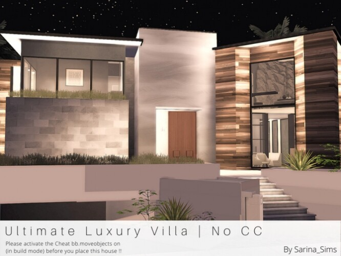Ultimate Luxury Villa by Sarina_Sims