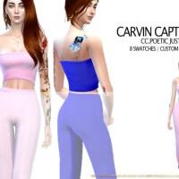 Poetic Justice Top by carvin captoor
